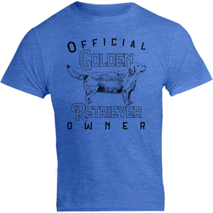Official Golden Retriever Owner - Unisex Tee - Graphic Tees Australia