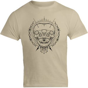 One And A Half Skulls - Unisex Tee - Graphic Tees Australia