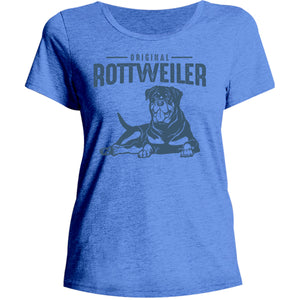 Original Rottweiler - Ladies Relaxed Fit Tee - Graphic Tees Australia