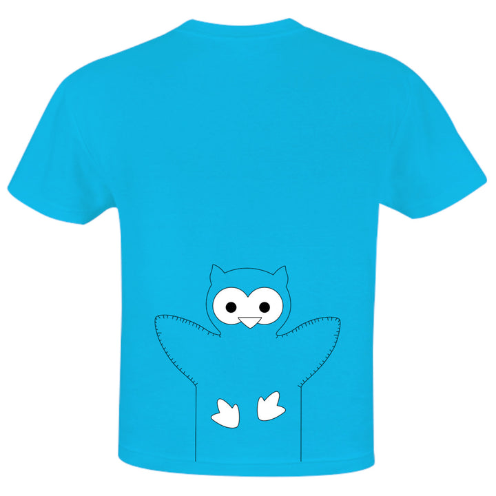 Owl back print - Youth & Infant Tee - Graphic Tees Australia