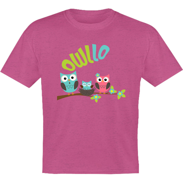 Owllo - Youth & Infant Tee - Graphic Tees Australia