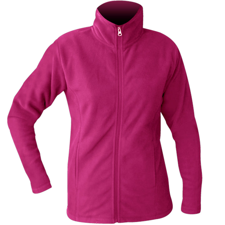 Performance Fleece Jacket - Ladies - Graphic Tees Australia
