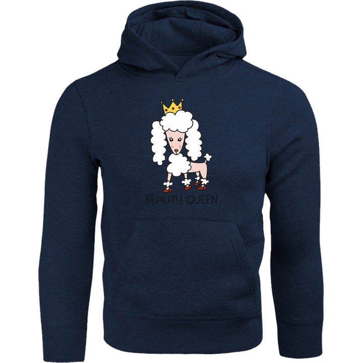 Poodle Beauty Queen - Adult & Youth Hoodie - Graphic Tees Australia