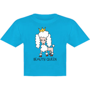 Poodle Beauty Queen - Youth & Infant Tee - Graphic Tees Australia