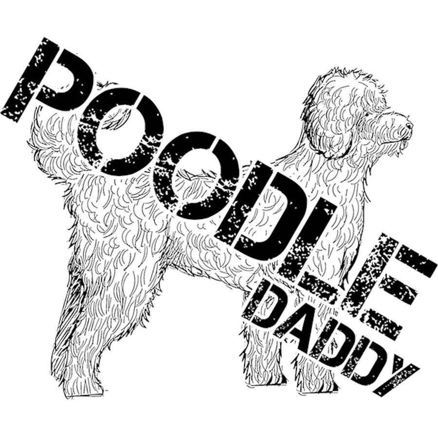 Poodle Daddy - Adult & Youth Hoodie - Graphic Tees Australia