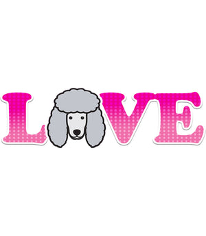 Poodle Love - Ladies Slim Fit Tee - Graphic Tees Australia