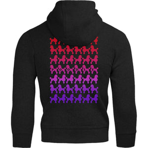 Poodles Silhouette - Adult & Youth Hoodie - Graphic Tees Australia