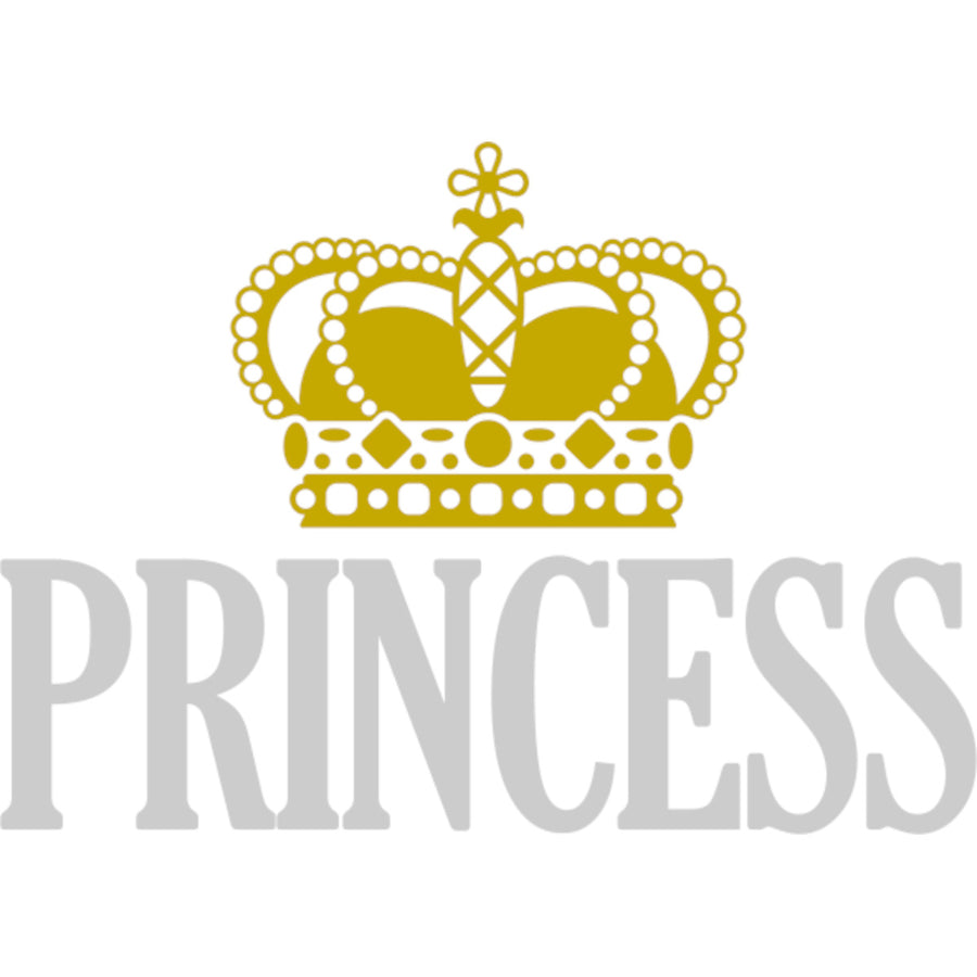 Princess - Ladies Relaxed Fit Tee - Graphic Tees Australia