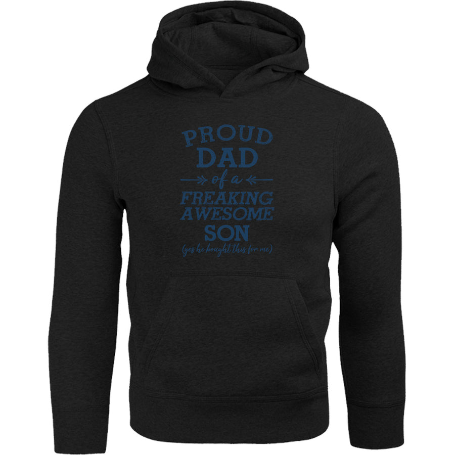 Proud Dad Awesome Son - Adult & Youth Hoodie - Graphic Tees Australia