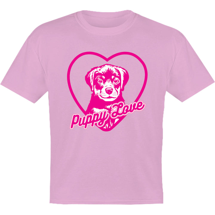 Puppy Love - Youth & Infant Tee - Graphic Tees Australia