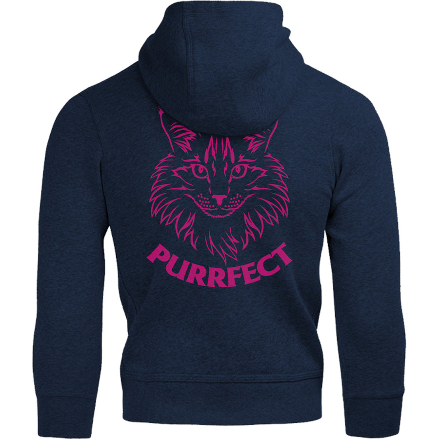 Purrfect - Adult & Youth Hoodie - Graphic Tees Australia