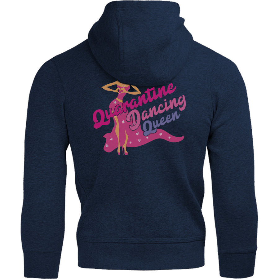 Quarantine Dancing Queen - Adult & Youth Hoodie - Graphic Tees Australia