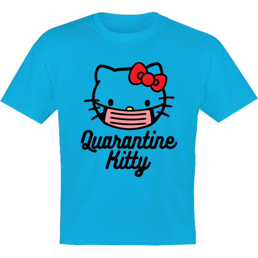 Quarantine Kitty - Youth & Infant Tee - Graphic Tees Australia