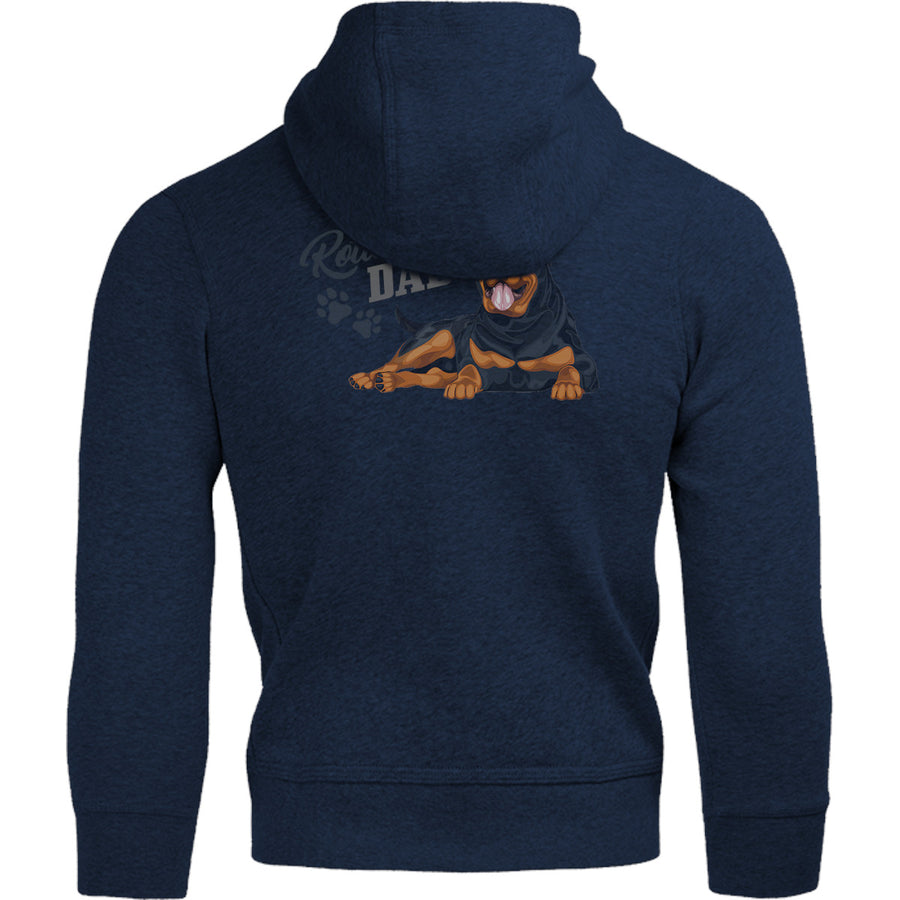 Rottweiler Dad - Adult & Youth Hoodie - Graphic Tees Australia