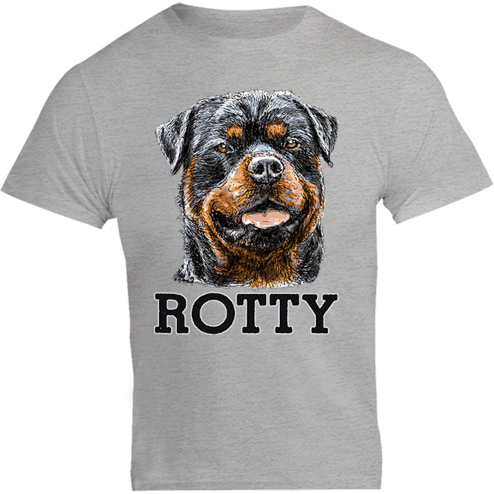 Rotty - Unisex Tee - Graphic Tees Australia