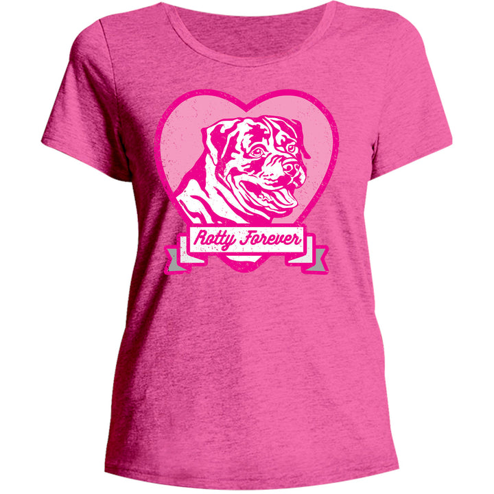 Rotty Forever - Ladies Relaxed Fit Tee - Graphic Tees Australia