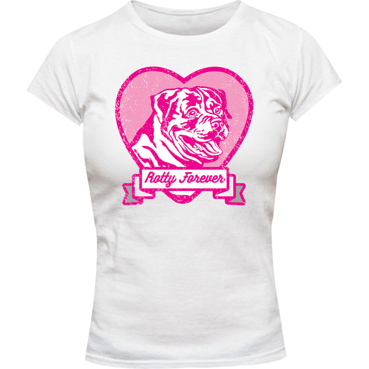 Rotty Forever - Ladies Slim Fit Tee - Graphic Tees Australia