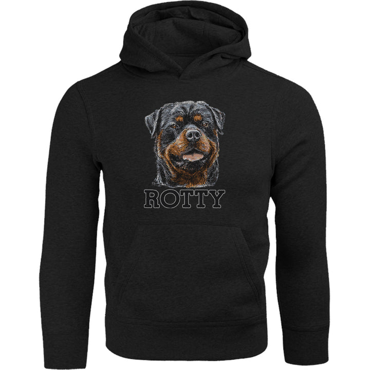 Rotty - Adult & Youth Hoodie - Graphic Tees Australia