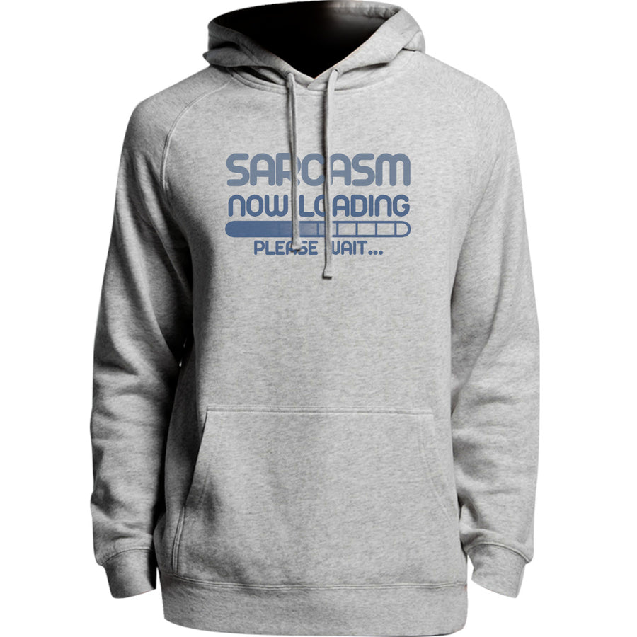 Sarcasm Loading Please Wait - Unisex Hoodie - Plus Size - Graphic Tees Australia
