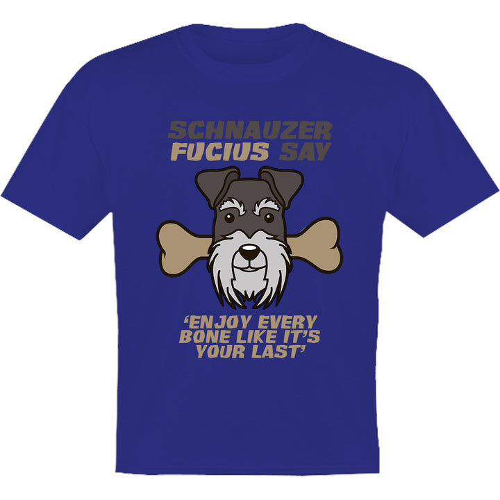 Schnauzer Fucius Say - Youth & Infant Tee - Graphic Tees Australia