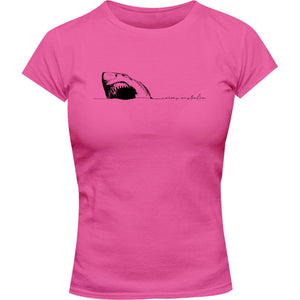 Shark Cairns Australia - Ladies Slim Fit Tee - Graphic Tees Australia