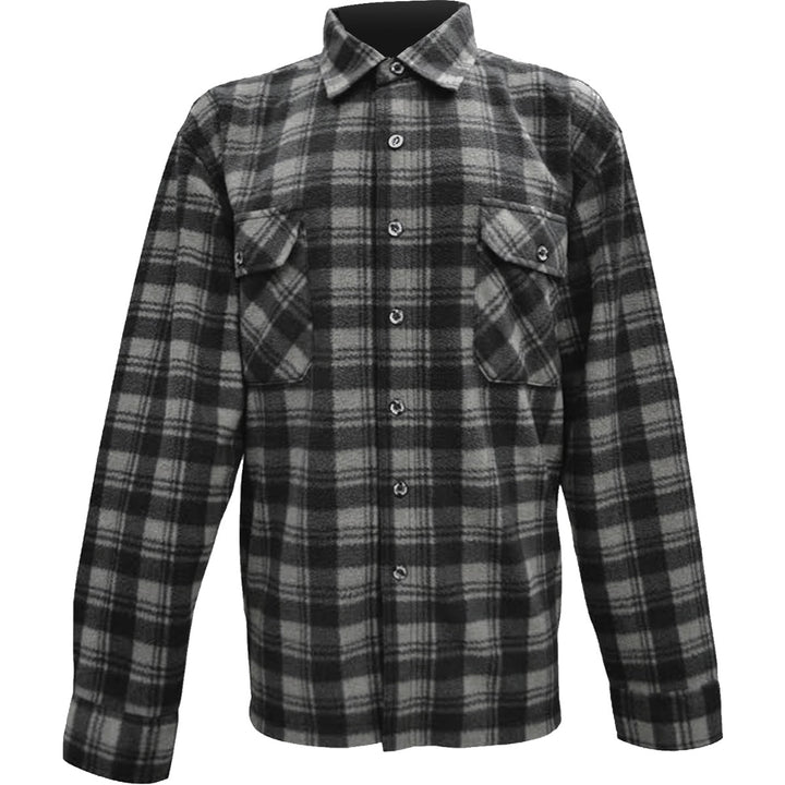 Shirt Fleece Plaid - Mens - Graphic Tees Australia