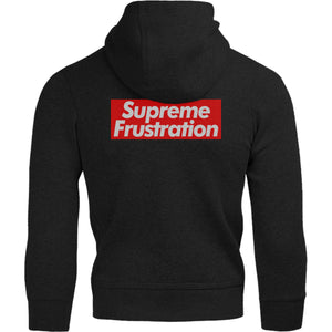 Supreme Frustration - Adult & Youth Hoodie - Graphic Tees Australia