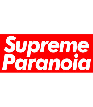 Supreme Paranoia - Adult & Youth Hoodie - Graphic Tees Australia