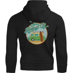 Surfs Always Up - Adult & Youth Hoodie - Graphic Tees Australia
