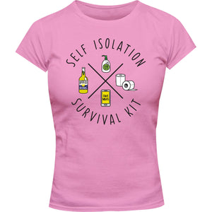 Survival Kit - Ladies Slim Fit Tee - Graphic Tees Australia