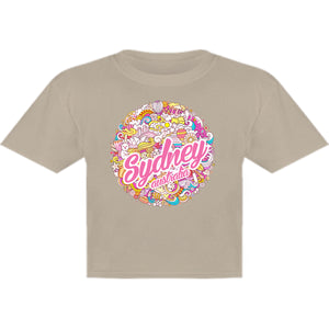 Sydney Australia Character Ball - Youth & Infant Tee - Graphic Tees Australia