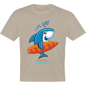 Sydney Australia Lets Surf - Youth & Infant Tee - Graphic Tees Australia