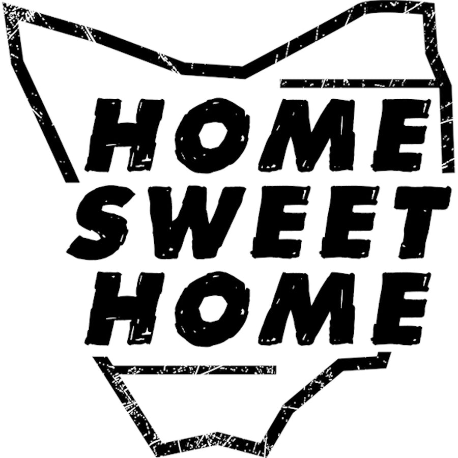 Tasmania Home Sweet Home - Ladies Relaxed Fit Tee - Graphic Tees Australia