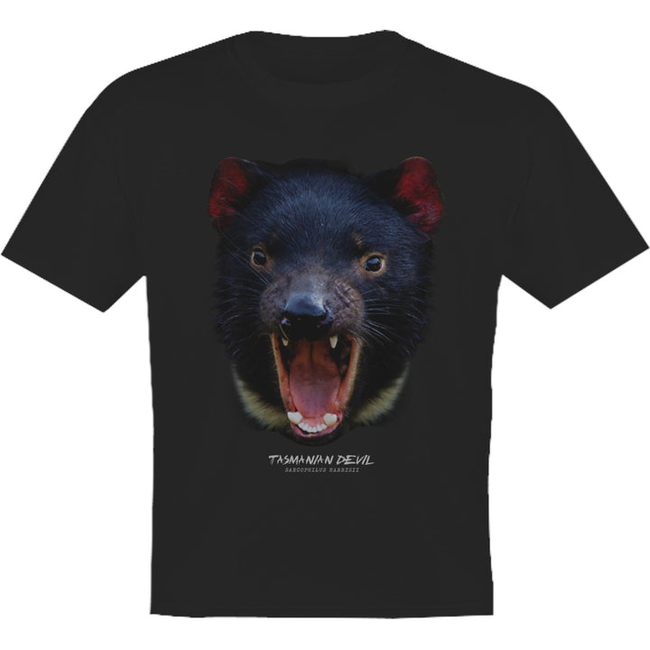 Tasmanian Devil Head - Youth & Infant Tee - Graphic Tees Australia