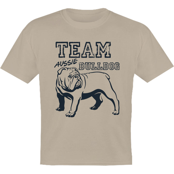 Team Aussie Bulldog - Youth & Infant Tee - Graphic Tees Australia