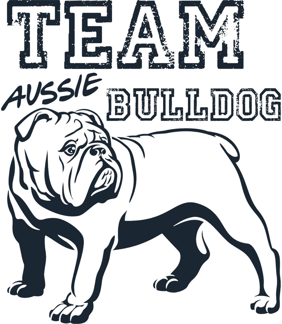 Team Aussie Bulldog - Adult & Youth Hoodie - Graphic Tees Australia