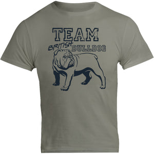 Team British Bulldog - Unisex Tee - Graphic Tees Australia
