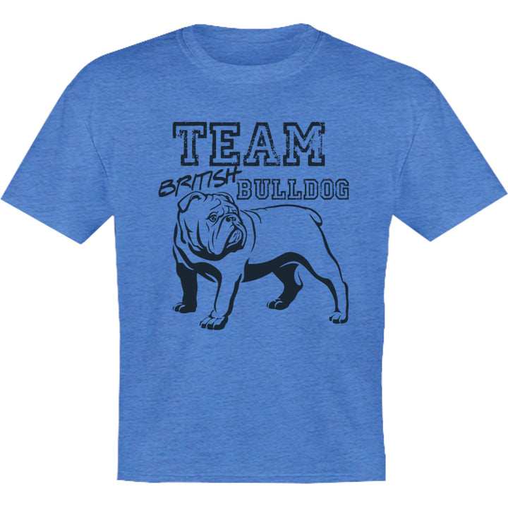Team British Bulldog - Youth & Infant Tee - Graphic Tees Australia