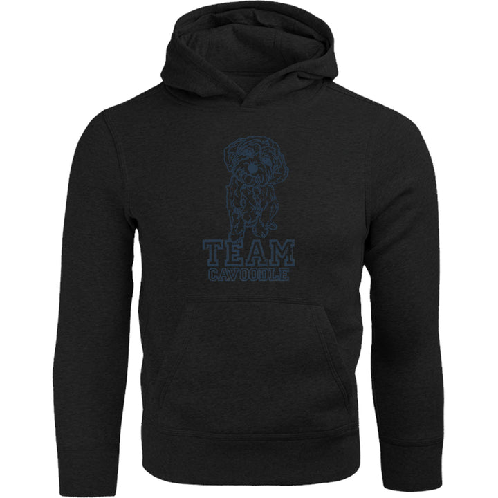 Team Cavoodle - Adult & Youth Hoodie - Graphic Tees Australia