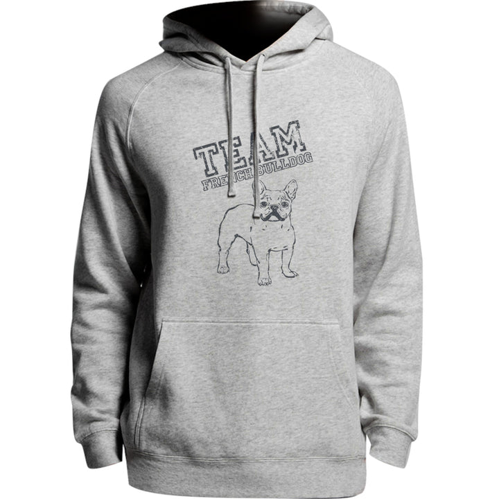 Team French Bulldog - Unisex Hoodie - Plus Size - Graphic Tees Australia