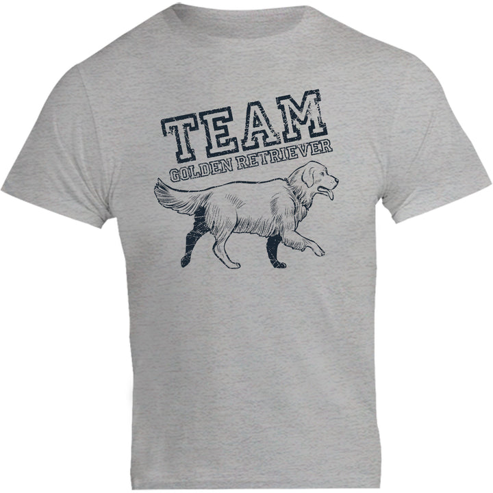 Team Golden Retriever - Unisex Tee - Graphic Tees Australia