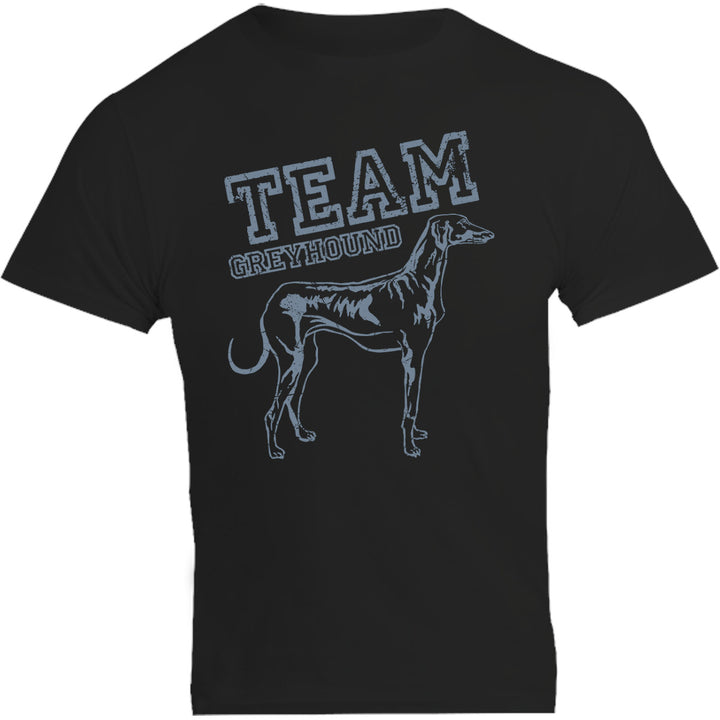Team Greyhound - Unisex Tee - Plus Size - Graphic Tees Australia