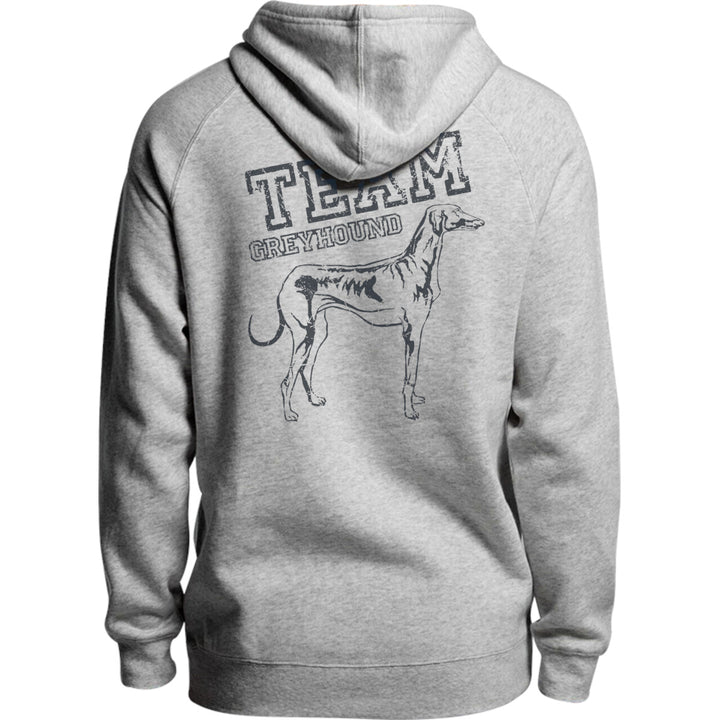 Team Greyhound - Unisex Hoodie - Plus Size - Graphic Tees Australia