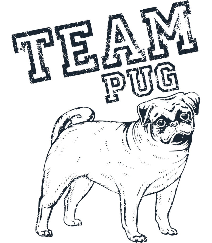 Team Pug - Ladies Slim Fit Tee - Graphic Tees Australia