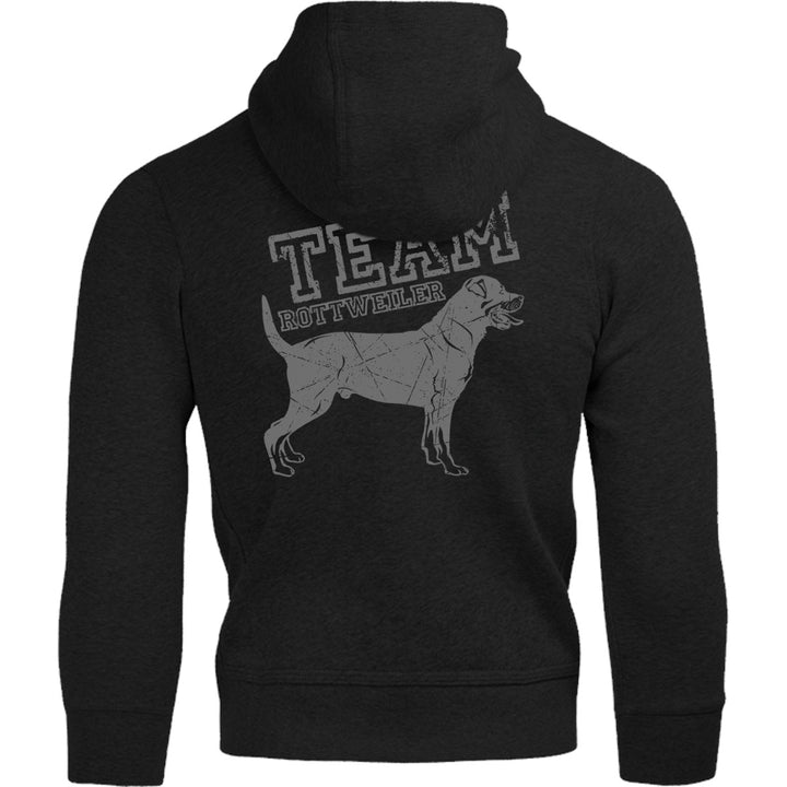 Team Rottweiler - Adult & Youth Hoodie - Graphic Tees Australia