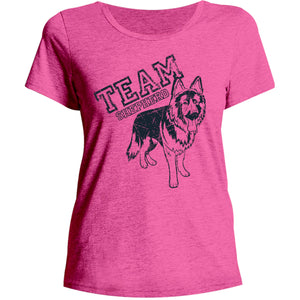 Team Shepherd - Ladies Relaxed Fit Tee - Graphic Tees Australia