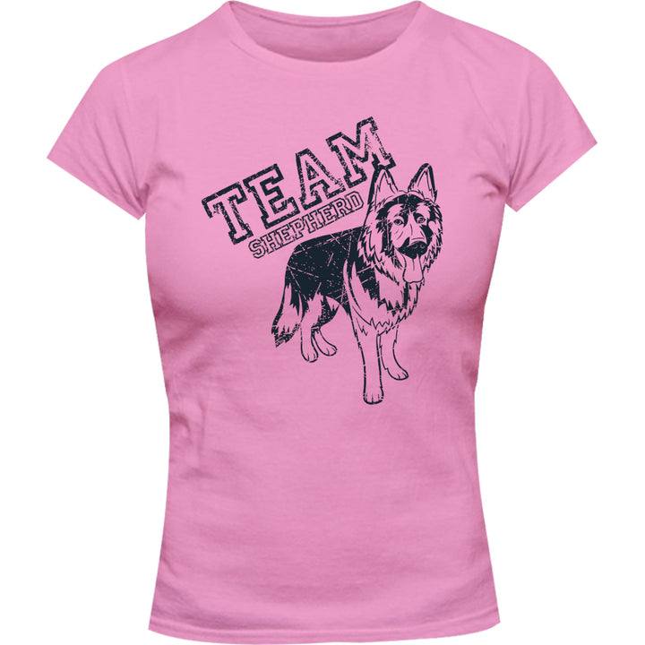Team Shepherd - Ladies Slim Fit Tee - Graphic Tees Australia