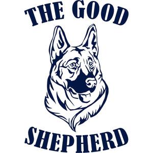 The Good Shepherd - Ladies Relaxed Fit Tee - Graphic Tees Australia