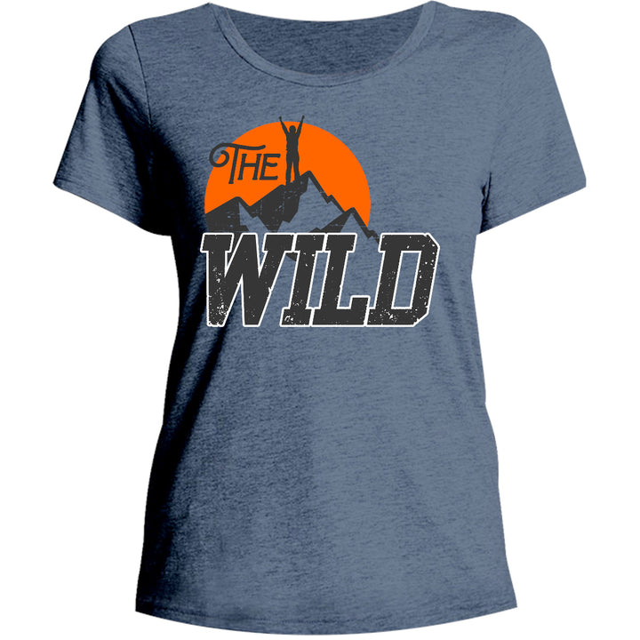 The Wild - Ladies Relaxed Fit Tee - Graphic Tees Australia