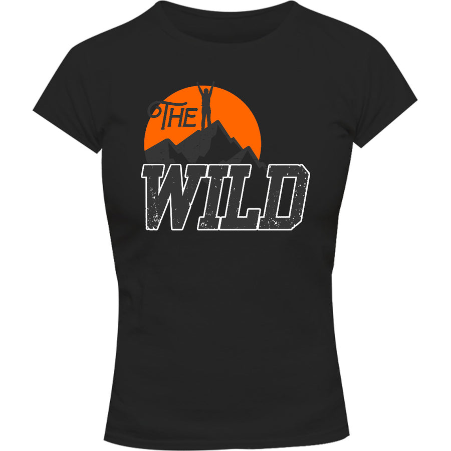 The Wild - Ladies Slim Fit Tee - Graphic Tees Australia